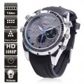 16GB Waterproof HD 1080P PC Camera Sport Watch DVR With Night Vision