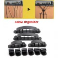 10шт Multi-Purpose6pcs дизайн Cabledrop кабель клип линии Fixer организаторы