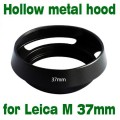 37mm 37 mm metal vented Lens Hood Shade New For Leica M