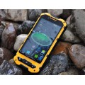 Free shipping original A2 intelligent three anti-cell phone waterproof dustproof Android 4.1 rugged outdoor mobile phone