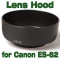 Lens Hood Replacement Canon ES-62 for EF 50/1.8II 50mm f1.8