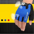 Motor Bike riding sports outdoor equipment wicking shock MTB bike gloves half finger movement Summer explosion models perspiration shock resistant sports gloves