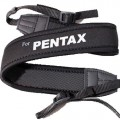 Neoprene JOINT Camera Shoulder Neck Strap BLACK Pentax K5 K7 K20D K200D