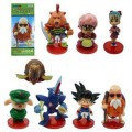 Q version of Dragon Ball Cartoon Collection ornaments 8pcs