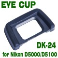 For the Nikon D5000 Eyepiece DK24 DK-24 Replacement Rubber Eyecup
