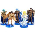 Saint Seiya Second Generation Theme Figure Doll Desktop Display Collection Toy 5 pcs