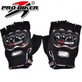 Summer bicycle motorcycle electric vehicles off-road half finger gloves drop resistance