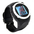 MQ998 Quad Band одной карте Bluetooth MP3/MP4 плеер FM 1.5in сенсорный экран Watch Phone